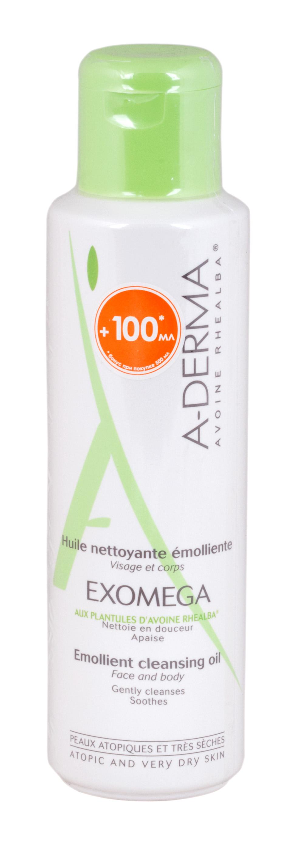 Масло A-Derma (А-Дерма) смягчающее очищающее Exomega 500 мл