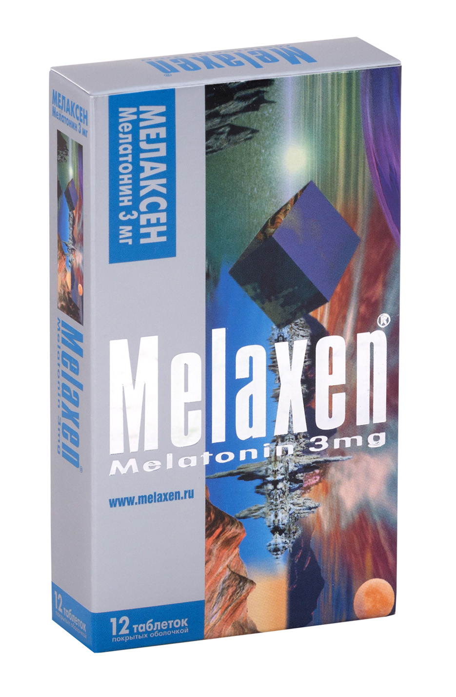 Мелаксен таб. п.о 3мг n12