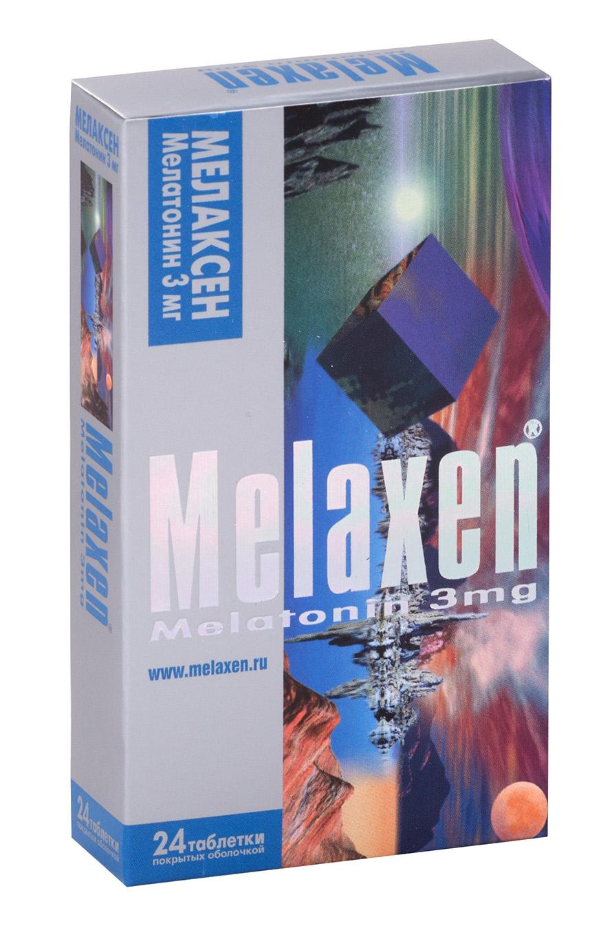 Мелаксен табл. п.о. 3 мг №24