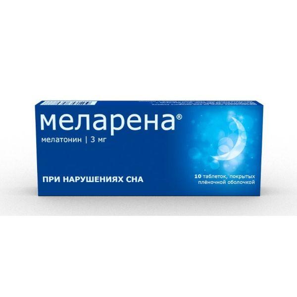 Меларена таб. п.п.о. 3мг n10