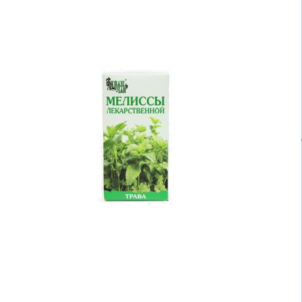 Мелиссы лекарственной трава сырье измельченное пачка 50г