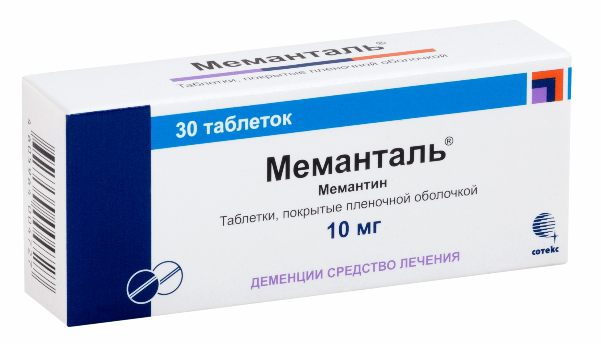 Меманталь таб. п.п.о. 10мг n30