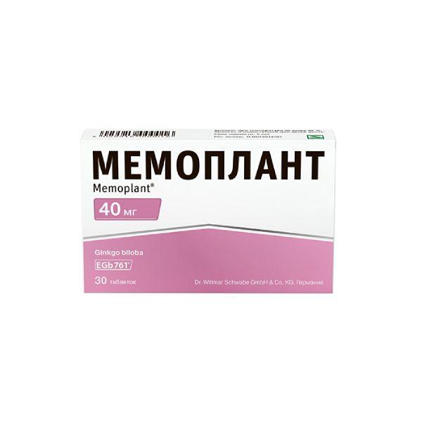 Мемоплант таб. 40мг n30