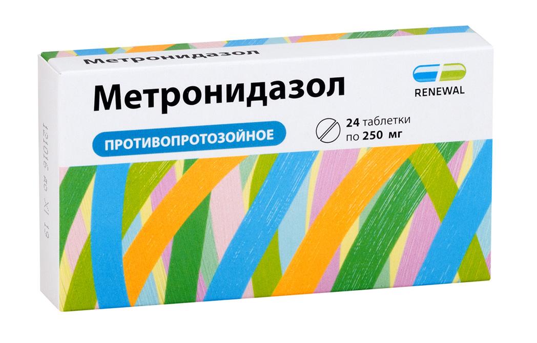 Метронидазол таб. 250мг n24