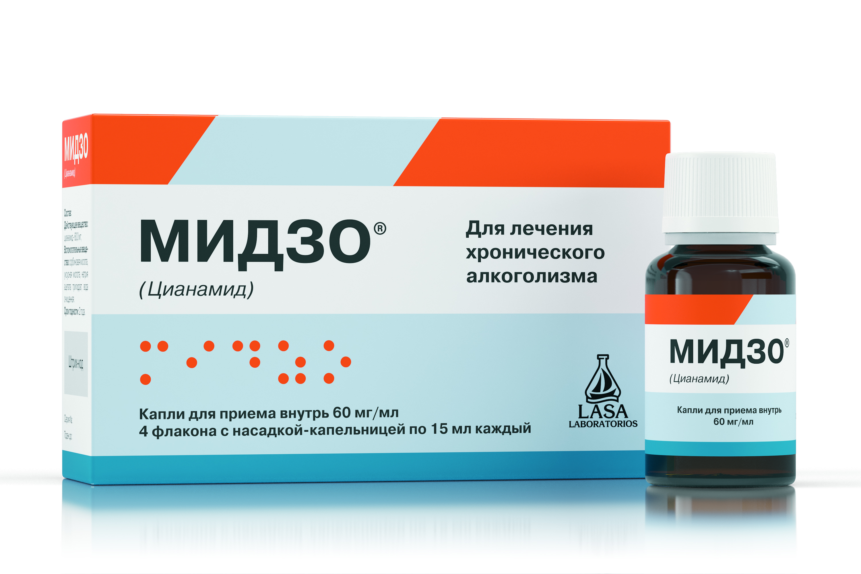 Мидзо капли для приема внутрь 60 мг/мл фл. с насадкой-капельницей 15мл №4