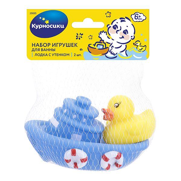 Мир Детства игрушка д/ванны уточка с утятами (25072)