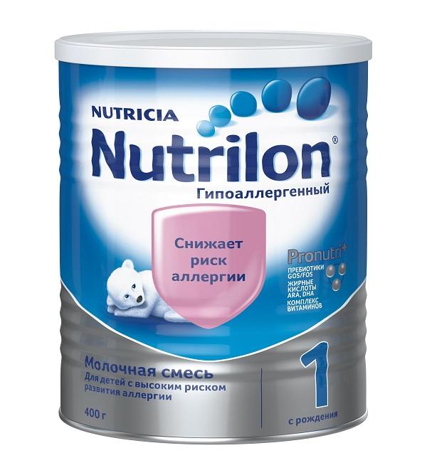 Молочная смесь Нутрилон/Nutrilon Гипоаллергенный 1, 400г
