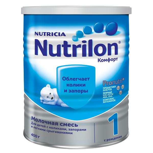 Молочная смесь Нутрилон/Nutrilon Комфорт 1, 400г