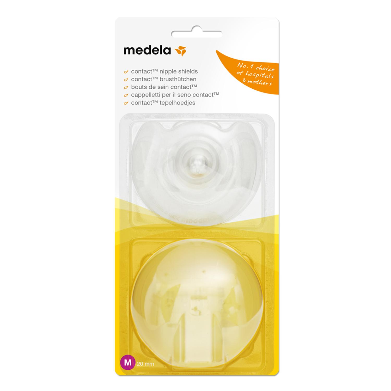 Накладки силиконовые для кормления грудью Medela (Медела) Contact размер M