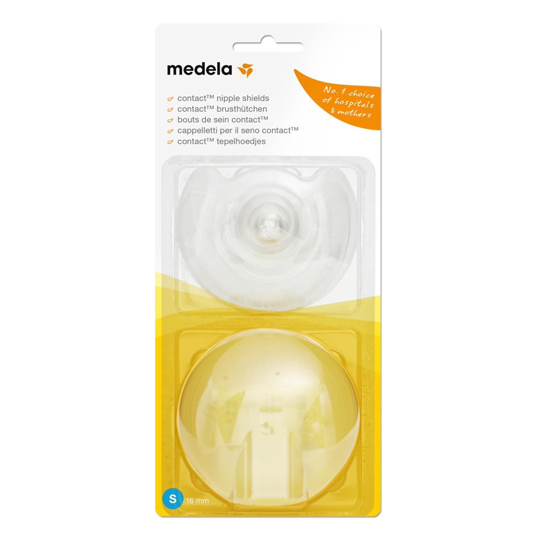 Накладки силиконовые для кормления грудью Medela (Медела) Contact размер S