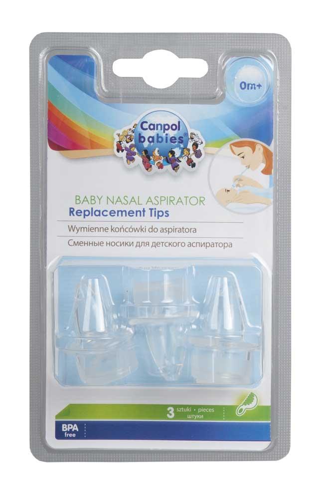 Насадки Canpol babies (Канпол бейбис) сменные для аспиратора назального 3 шт.
