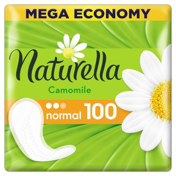 Натурелла прокладки женские гигиенические на каждый день camomile нормал №100