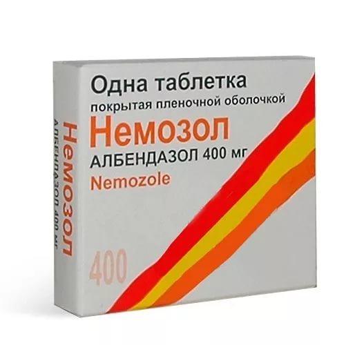 Немозол таб. п.о 400мг n1