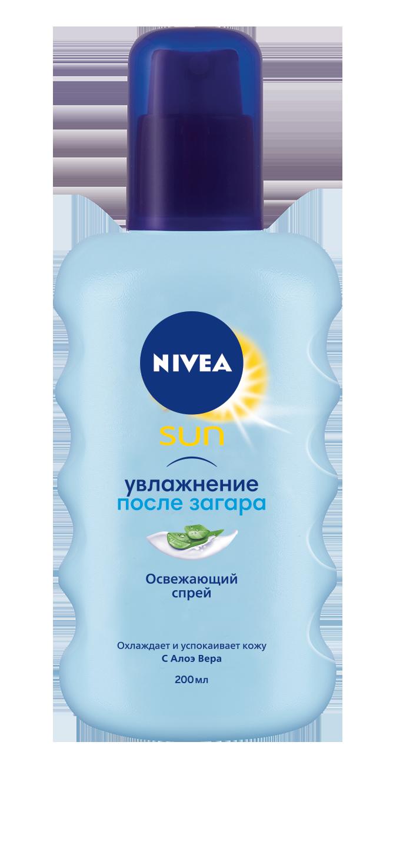 Нивея сан спрей охлаждающий после загара 200мл (80434)