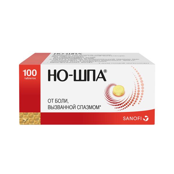 Но-шпа таб. 40 мг n100