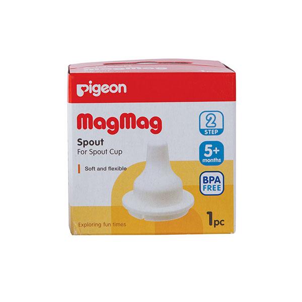 Носик сменный Pigeon (Пиджен) к поильнику MagMag шаг 2