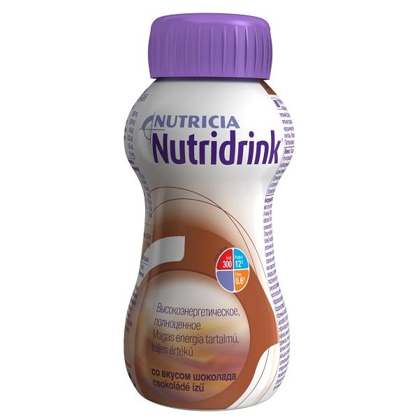 Нутридринк смесь д/энтерального питания шоколад 200мл