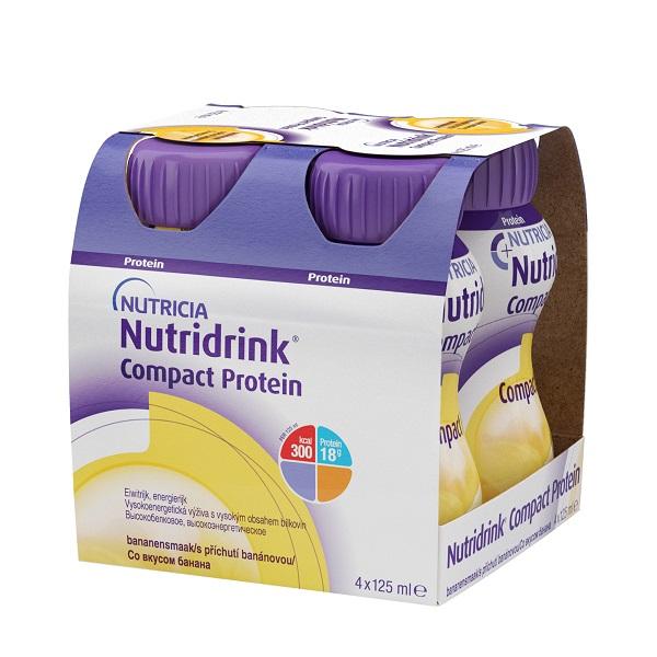Нутридринк смесь компакт протеин банан 125мл n4