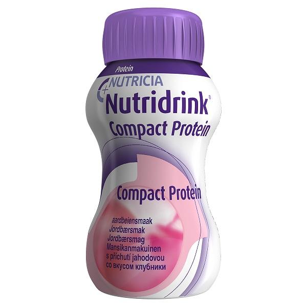 Нутридринк смесь компакт протеин клубника 125мл n4