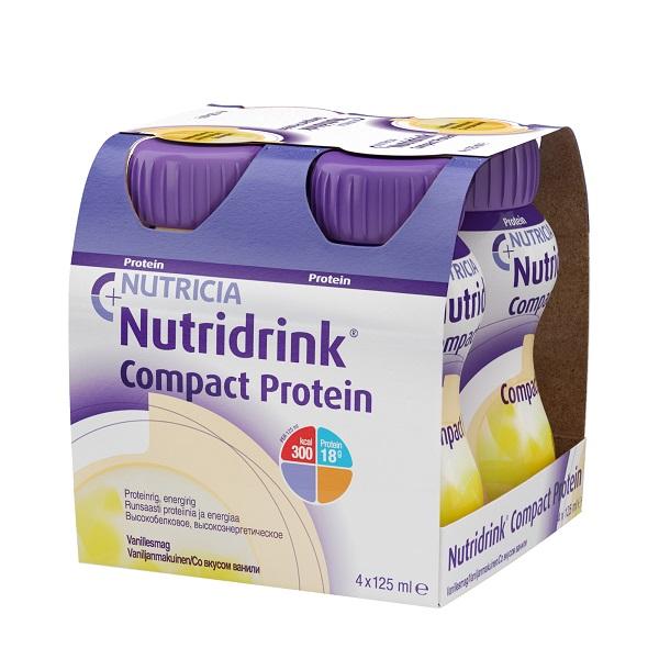 Нутридринк смесь компакт протеин ваниль 125мл n4