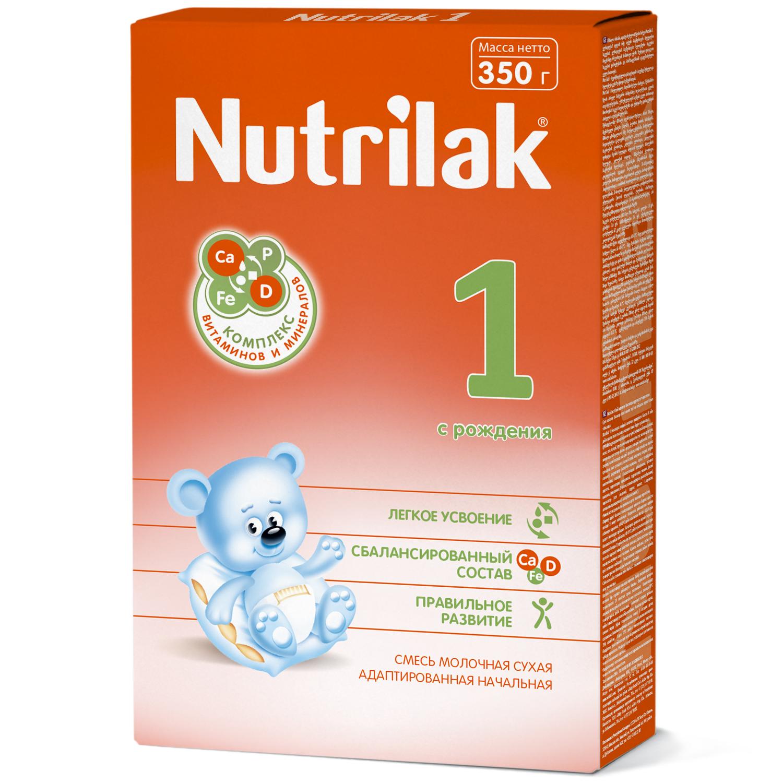 Нутрилак 1 смесь молочная сухая адаптированная начальная 350г