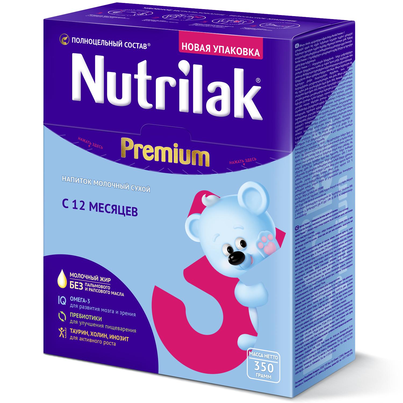 Нутрилак premium 3 напиток молочный сухой 350г