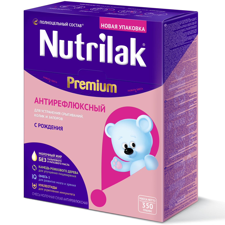 Нутрилак premium антирефлюксный смесь молочная сухая 350г