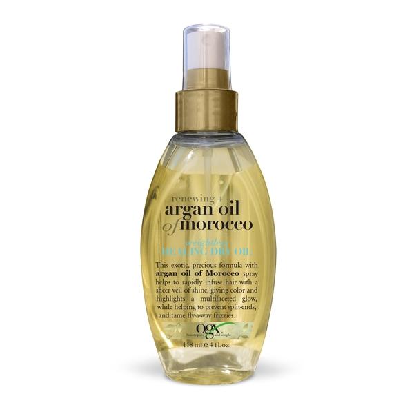 Ogx масло-спрей легкое сухое аргановое марокко для восстановления волос фл. 118мл