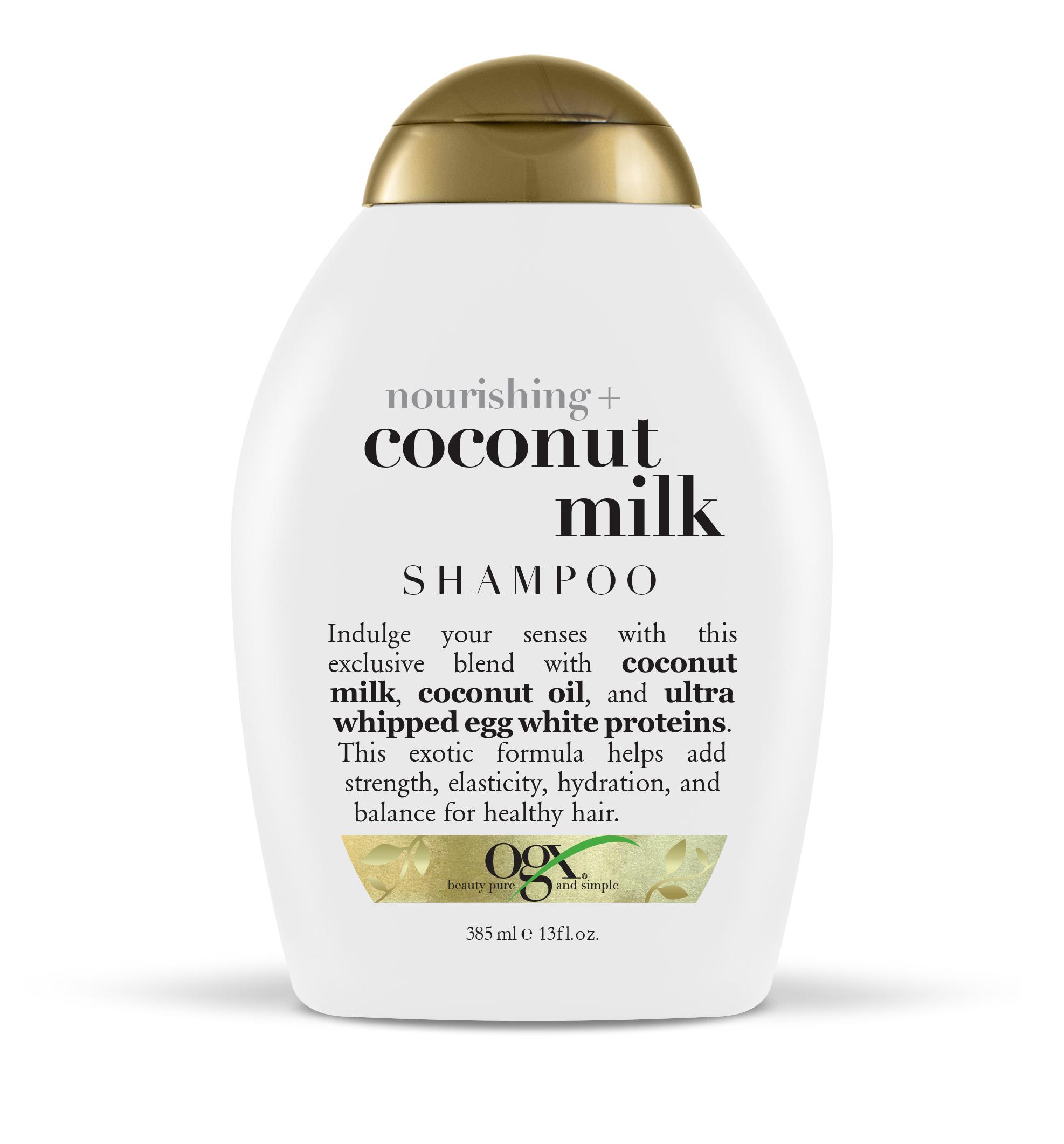 Ogx шампунь питательный с кокосовым молоком фл. 385мл