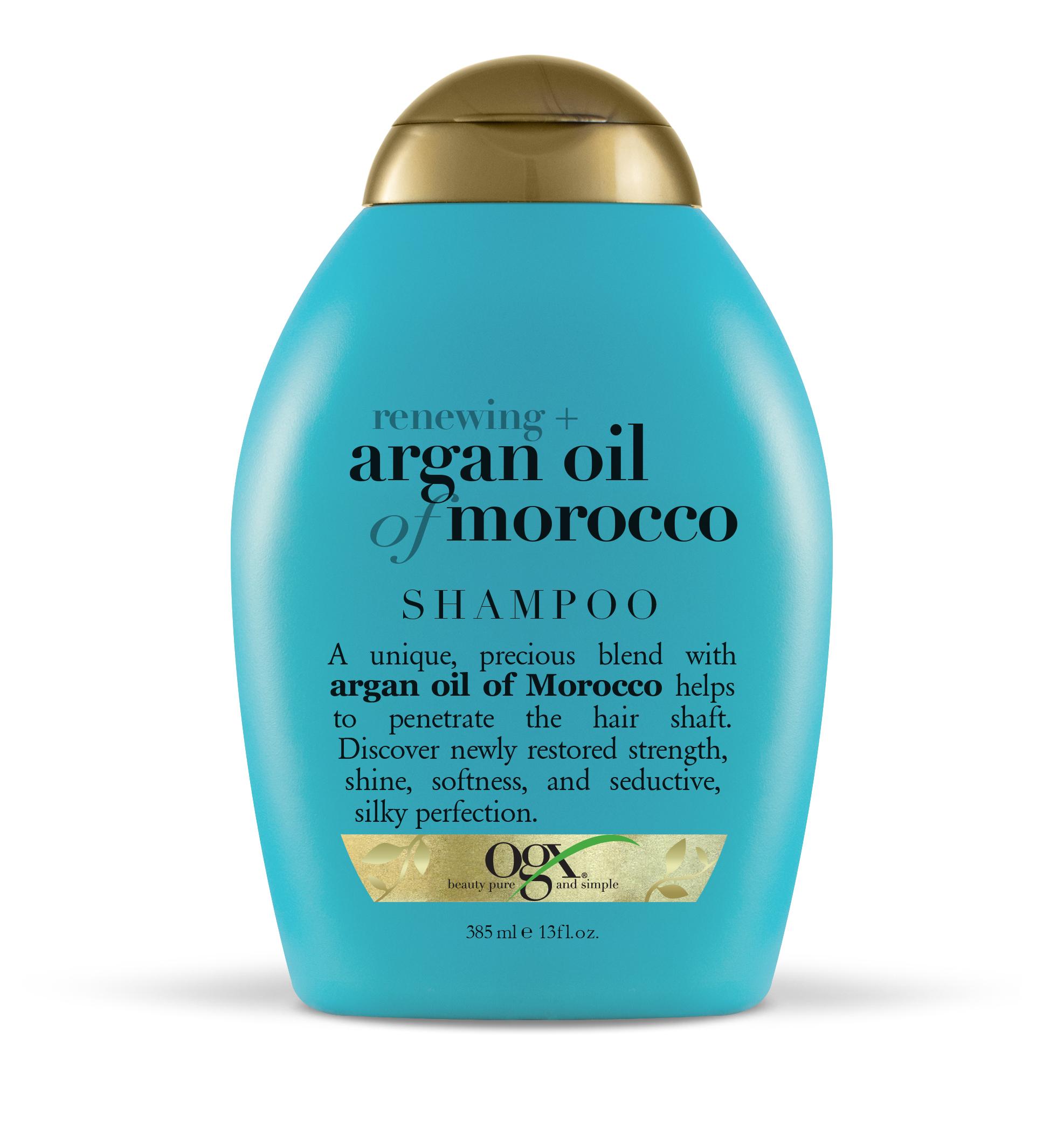 Ogx шампунь восстанавливающий с аргановым маслом марокко фл. 385мл