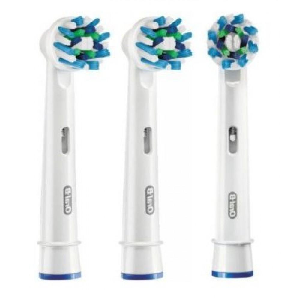 Орал-би насадка сменная д/электрических зубных щеток crossaction №4