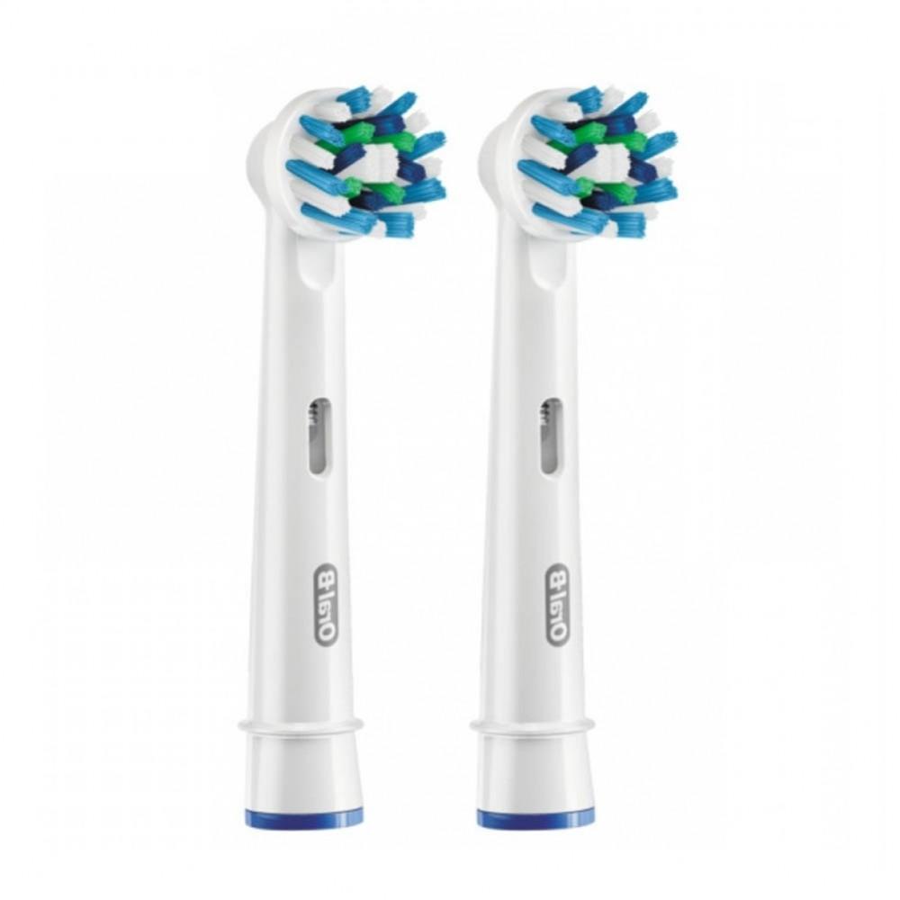 Орал-би насадки д/электрических зубных щеток crossaction eb50-2 №2