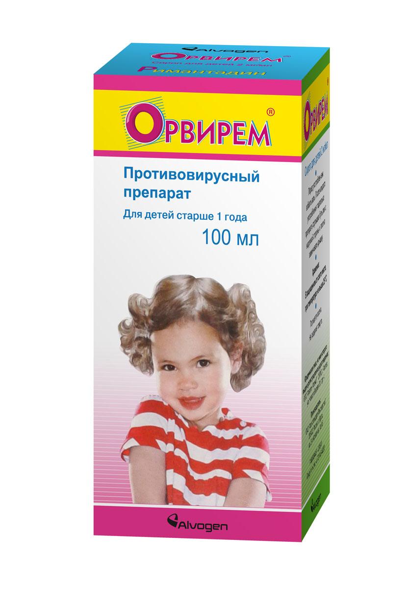 Орвирем сироп детск. 2мг/мл 100мл n1