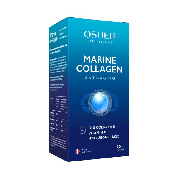 Ошер морской коллаген капс. 404мг 90 шт.