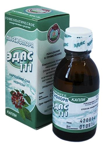 Пассифлора ЭДАС-111 Капли гомеопатические 25мл