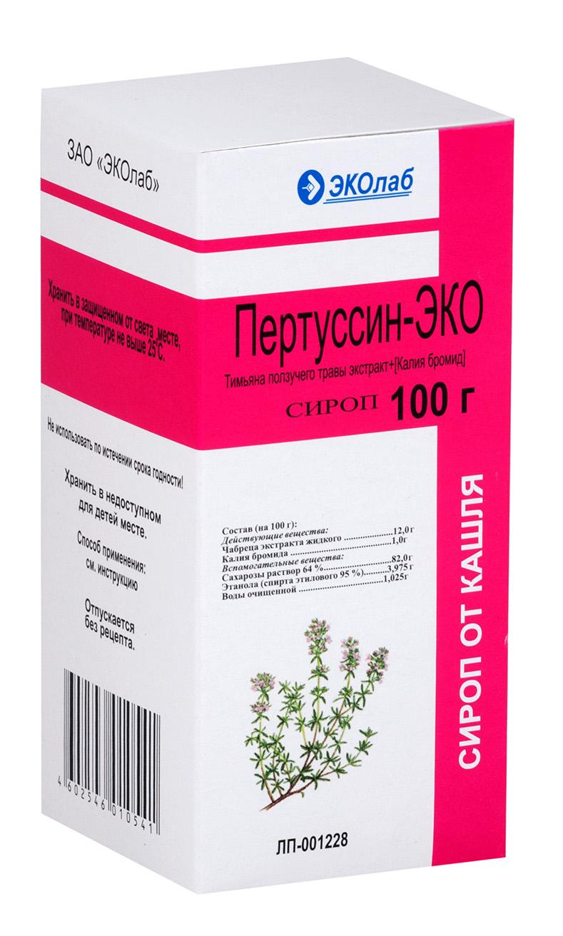 Пертуссин-эко сироп 100мл n1