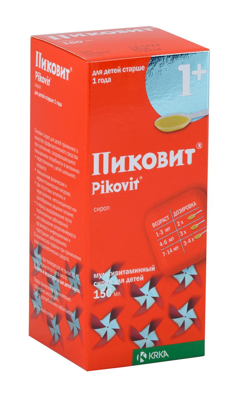Пиковит сироп детск. 150 мл (1год )