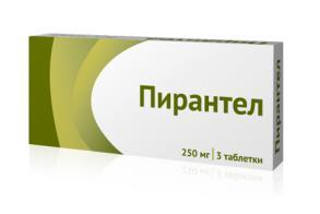 Пирантел таблетки 250мг №3 Озон
