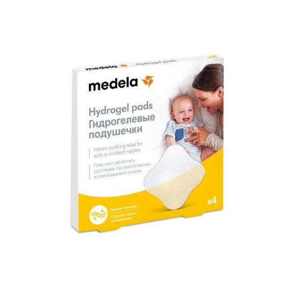 Подушечка Medela (Медела) гидрогелевая стерильная на грудь р.4 10 уп.