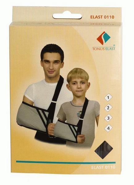 Повязка поддерживающая д/фиксации руки эласт 0110 №1 (детская)