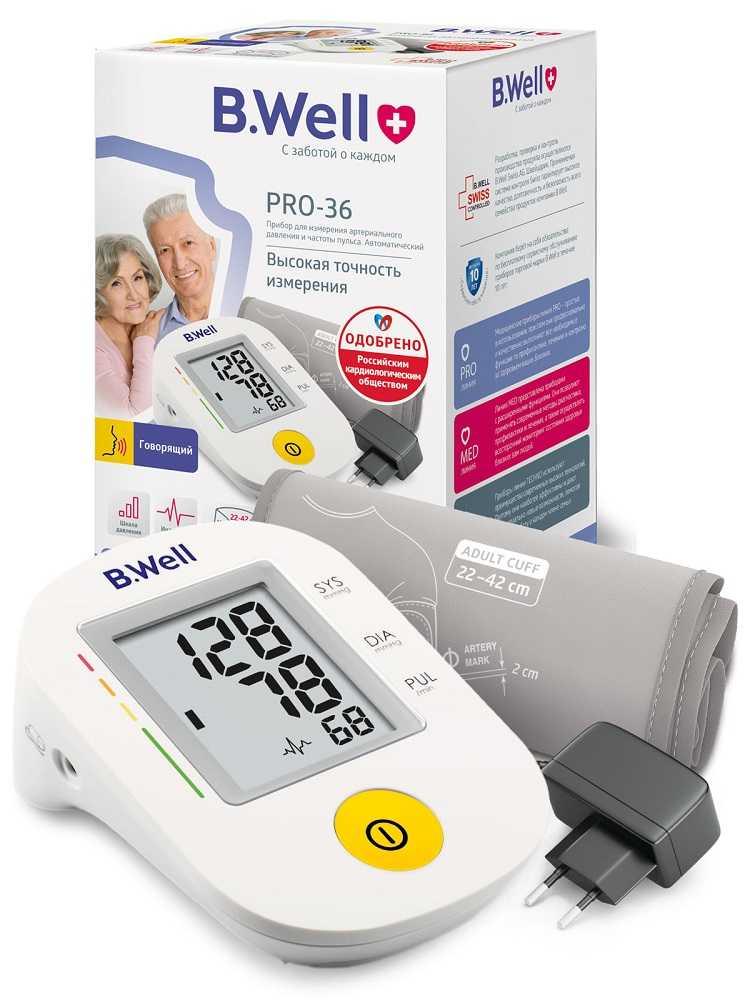 Прибор для измерения артериального давления и частоты пульса pro-36 автоматический