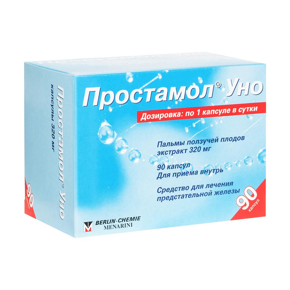 Простамол уно капс. 320 мг №90