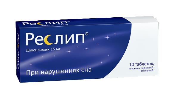 Реслип таб. п.п.о. 15 мг 10 шт.