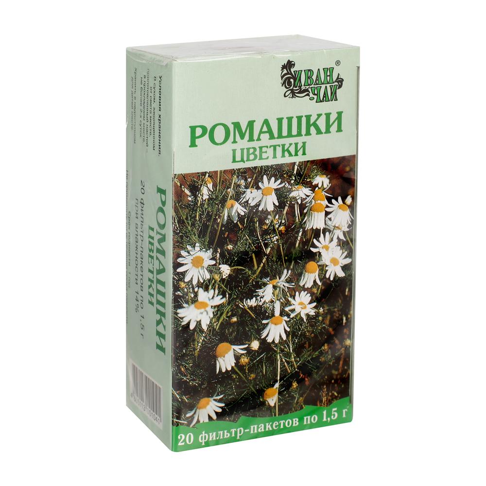 Ромашки цветки порошок фильтр-пакеты 1,5г №20