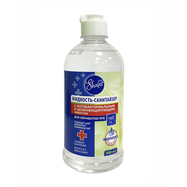 Shalet (Шалет) жидкость-санитайзер с антибактериальным эффектом 500мл