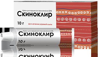Скиноклир крем д/нар.прим. 20% туба 30г