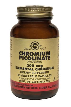 Солгар пиколинат хрома капс. 268 мг n90