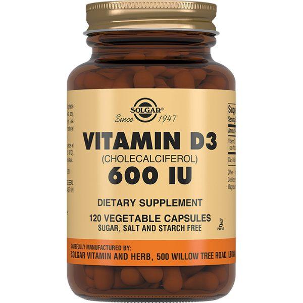 Солгар витамин d3 600ме капс. 240мг №120 (бад)