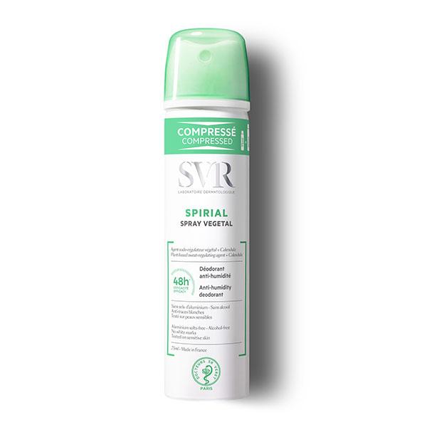 Svr спириал растительный спрей дезодорант фл. 75мл