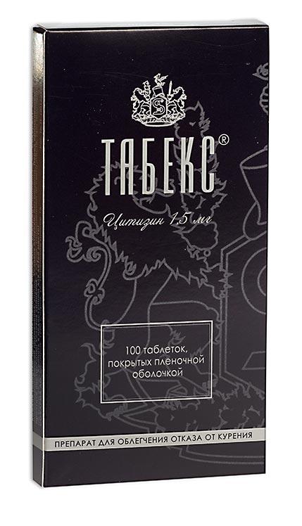 Табекс таб. п.п.о. 1,5мг n100